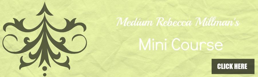 Mimi Courses Rebecca Millmans psychic studio wa
