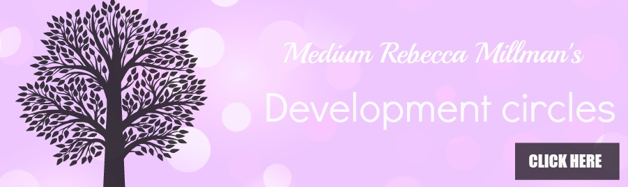 rebecca millman psychic studio development circles perth