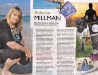 Medium Rebecca Millman in the Sunday Times