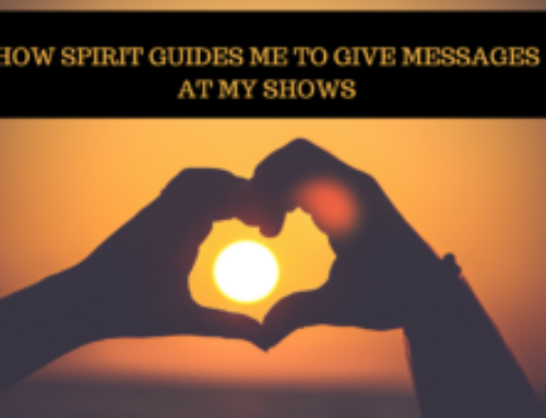How Spirit Guides Me To Give Messages At My Show – Rebecca Millman TV